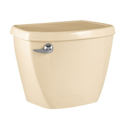 American Standard 4027.016.021 Cadet-3 14-Inch Rough-In Toilet Tank with Coupling Components, Bone (Tank Only)
