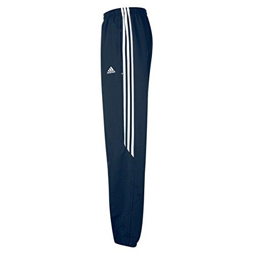 Adidas Samson 3S Pantaloni della Tuta da Uomo Blu Navy con 3 Righe Bianche Taglie S M L XL 912389 Nuovi - Blu Navy/ Bianco, Poliestere, Large Vita 86cm