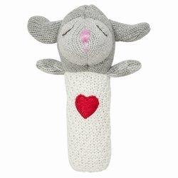 Elegant Baby Lambie Squeaky Rattle - 1