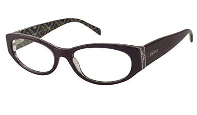 Amazon.com: Prada Rx Eyeglasses - PR03PV Purple / Frame ...