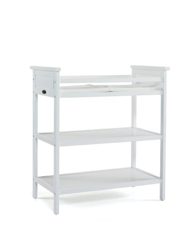 Graco Somerset Dressing Table, Classic White