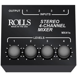 MX41S 4 Channel Mixer