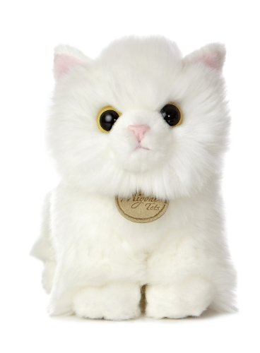 "Aurora World Miyoni Angora Kitten Plush, 7.5"" Tall"