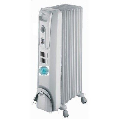 DeLonghi TRH0715SH Oil-Filled Radiator with Overheat Audible Alarm