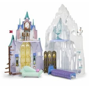 Disney Ana and snow Queen ice Castle and Palace Playset Disney Frozen Castle &Ice Palace Playset parallel imports