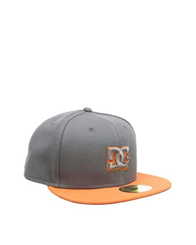 DC Clothing Gorra  Gris Oscuro / Naranja Talla inglesa: Size 7 5/8