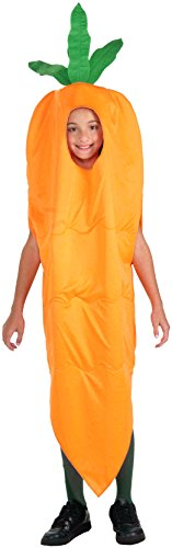 Forum Novelties Fruits and Veggies Collection Carrot Child Costume, Medium (Fruits And Vegetables Costume compare prices)
