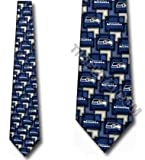 Seattle Seahawks NeckTies Silk Mens Ties at Amazon.com