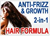 31uW5YL5EaL. SL160  Long N Strong 2 in1 ANTI FRIZZ and HAIR GROWTH SERUM!    Leave in Texturizing Serum repairs hair while it helps it grow hair longer and stronger and relaxing frizzy hair (frizz control & growth   better than other anti frizz cream). Theres NO other product on the market like it! Make your hair Long and Strong!