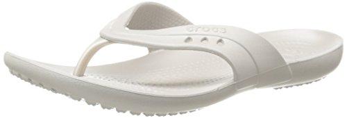 Crocs Women'S 14177 Kadee Flip Flop,Platinum,6 M Us front-1009120