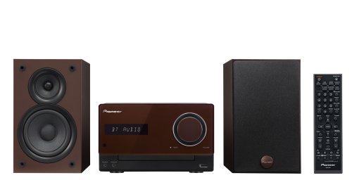 Pioneer CDミニコンポーネントシステム iPod/iPhone/iPad対応 Bluetooth機能搭載 ブラウン X-CM32BT-T