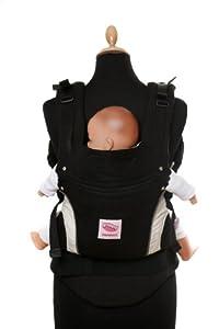 Manduca Baby- und Kindertrage schwarz