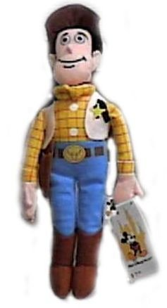 "Toy Story 9"" Woody Bean Bag Plush"