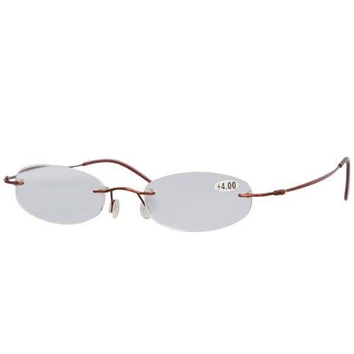 +4.0 Eschenbach Miniframe Reading Glasses