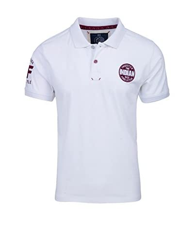 THE INDIAN FACE Polo [Bianco]