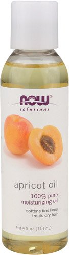 Now Foods Apricot Kernel Oil, 4-Ounce (Pack Of 2)