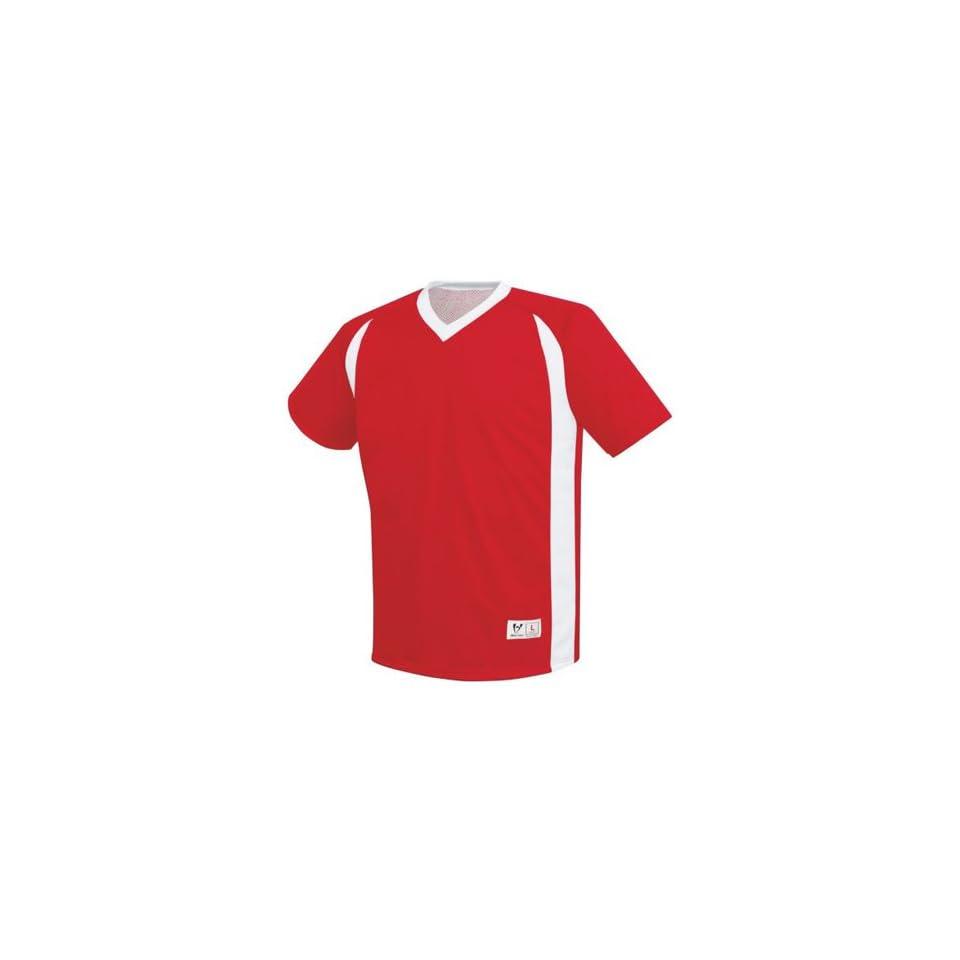 6b0b3218b4b High Five Dynamic Reversible Custom Soccer Jerseys Outside SCARLET ...