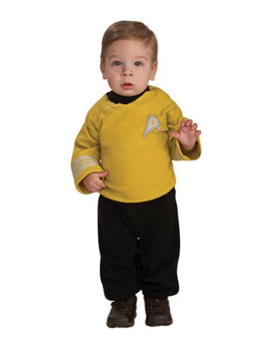 Baby-boys - Captain Kirk Toddler Costume 1-2 Halloween Costume