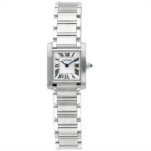 Cartier Women's Tank Francaise Stainless Steel Watch