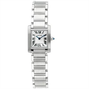 Cartier Women's W51008Q3 Tank Francaise Stainless Steel Watch