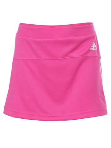 Girls' adidas Response Tennis Skirt - Pink - Large (Age 12Y)