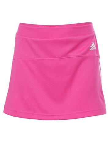 Girls' adidas Response Tennis Skirt - Pink - Large (Age 12Y)