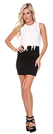 Black and White Dress, Work & Party Summer Dresses: Amazon Fashion