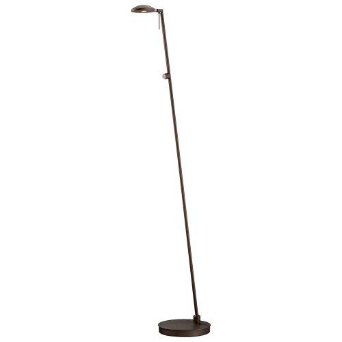 Kovacs P4334-647 1 Light Led Floor Lamp In Copper Bronze Patina From The George', Copper Bronze Patina