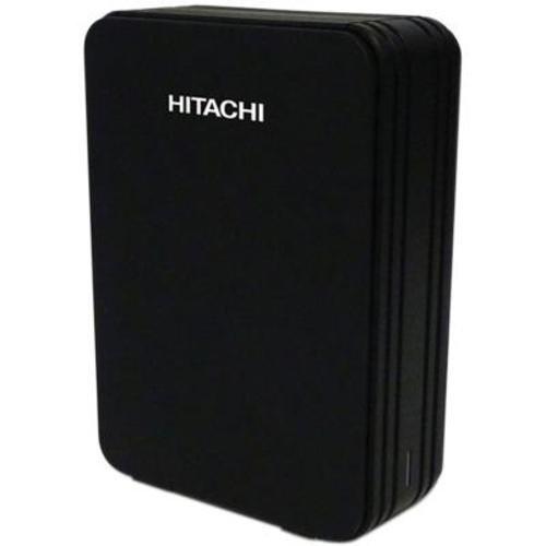 Hitachi Touro Desk DX3 2TB External Hard Drive - Black