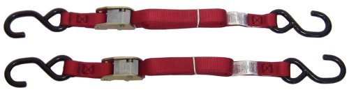 Ancra-40888-10-12-Red-Original-Premium-Cam-Buckle-Tie-Down-24-Pack