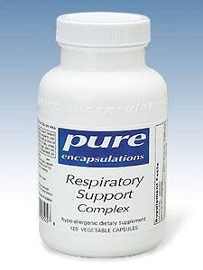 Pure Encapsulations - Respiratory Support Complex 120 Caps