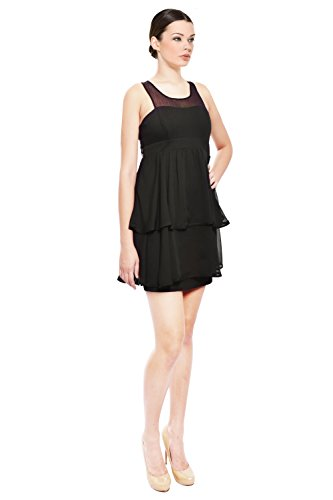 LaRok Sassy Tiered Evening Dress