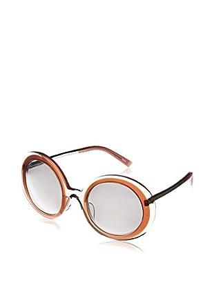 Jill Sander Gafas de Sol J0002-C (52 mm) Transparente / Naranja
