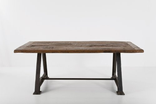 Popular Buy Cheap Kare Design Railway dining table x cm made of teak rail planks