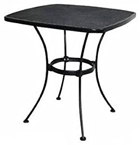 Woodard Cm WI-300-T Uptown Collection Patio Bistro Table, Steel Mesh, 28-In. by Woodard Cm