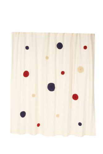 American Parade Shower Curtain front-626885