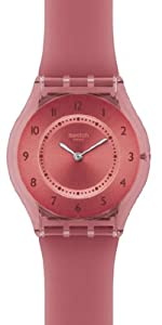 Swatch Burgundy Softness Ladies Watch SFR103