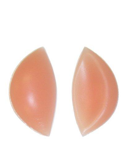 SODACODA - 180g/Paar- sichelförmige Push Up Silikon Einlagen Hautfarbe - Brust Vergrößerung für BHs, Badeanzüge und Bikinis - geeignet für A, B, C und D Cups - Silikon Brüste - Hohe Qualität