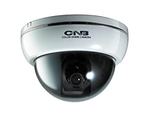 DFL20S-W(White) CNB Super HIGH resolution of 600 TV Lines (DVD quality) Color Dome Video Surveillance Security Camera