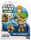 Playskool Heroes, Star Wars, Jedi Force Figures, Luke Skywalker and Yoda - 1