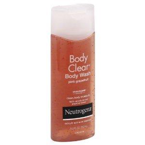 Neutrogena Pink Grapefruit Body Clear Body Wash 8.5 OZ (PACK OF 2)