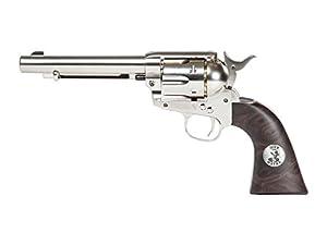 John Wayne Colt CO2 Pellet Revolver, Nickel air pistol