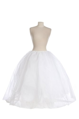 New Mega Full Cinderella Bridal Spandex Petticoat Crinoline Wedding Gown Slip by Bags for Less