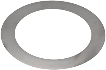 Steel Round Shim, Solid, Unpolished (Mill) Finish, H04 Temper, Inch