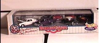 Hot Wheels Collectibles - Reggie's Cars (Reggie Jackson, major league baseball's Mr. October).