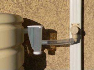 Pack collecteur d 39 eau de pluie rectangulaire capt 39 eau - Collecteur d eau de pluie pour gouttieres ...
