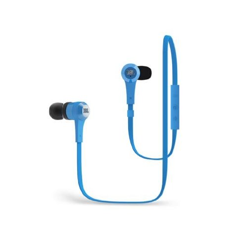 Jbl J46Bt Bluetooth Wireless In-Ear Stereo Headphone, Blue