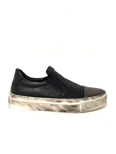 Sneakers DV265/573 slip on Divine follie in pelle 40, nero MainApps