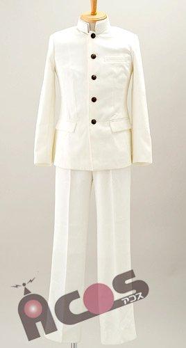 4961524721801 コスプレ 衣装 ACOSオリジナル 学生服(白)/サイズ-L