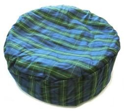 "Cosipet Dog Bed Tartan Bean Bag Large 36"" Blue by Cosipet"